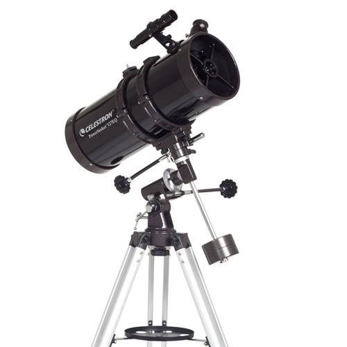 Celestron 21049 PowerSeeker 127EQ Telescope w/ 300x Magnification and 5.0 Inch Aperture