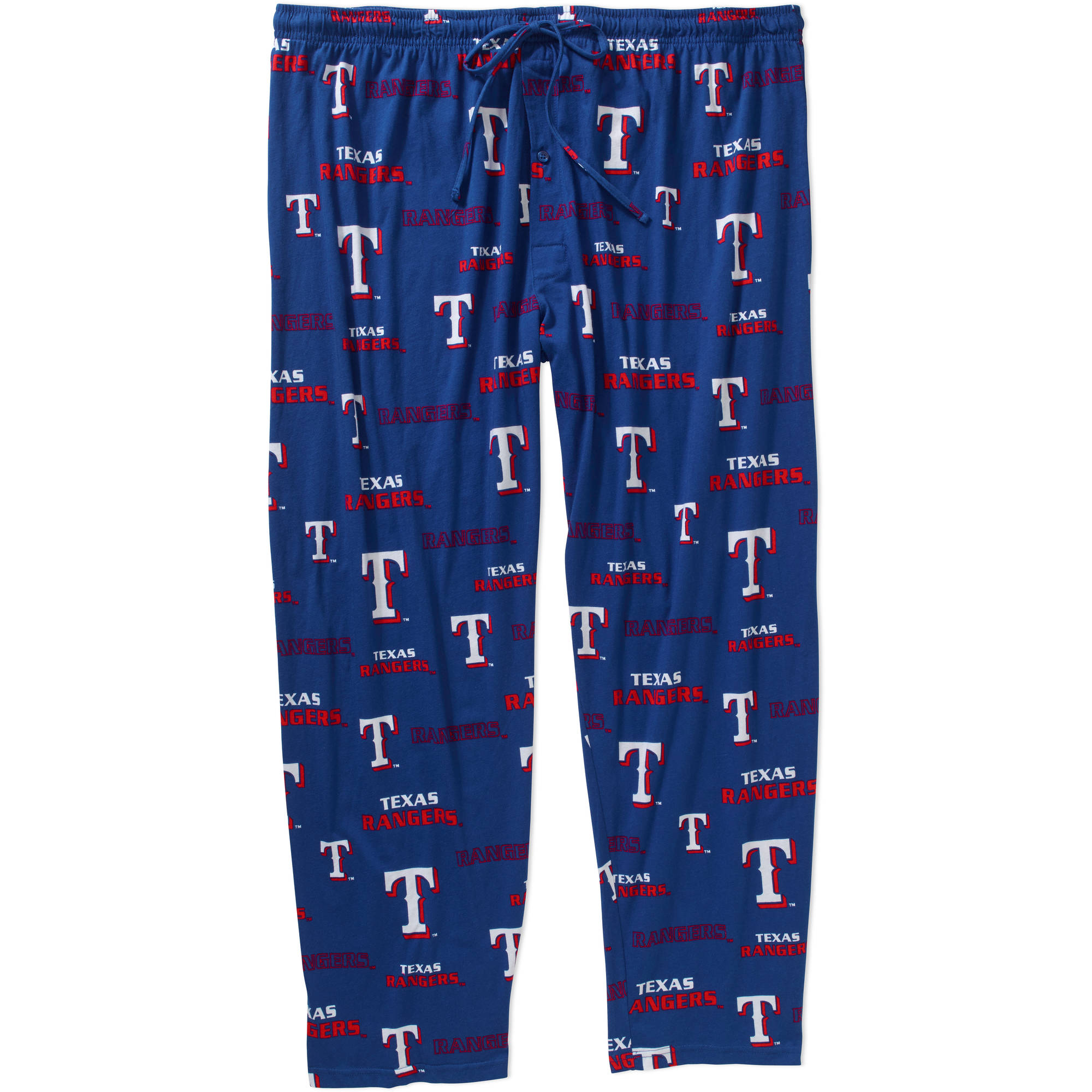 MLB Men's Texas Rangers Knit Sleep Pants