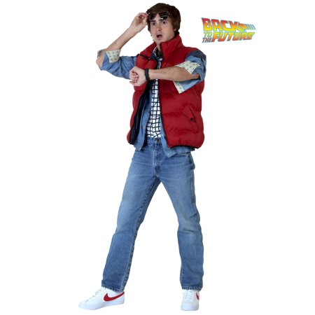 Back to the Future Marty McFly Costume - Marty Mcfly Jacket