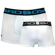 Bad Boy Boxer Shorts 2-Pack - White