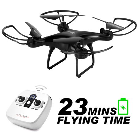 2.4GHz RC Quadcopter 6-axis Gyro Remote Control Drone Quadcopters-ALLCACA with Altitude Hold Mode, 3D Flip, Headless Mode and One-key Return(Black)