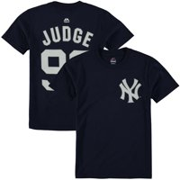 Aaron Judge New York Yankees Majestic Youth Player Name & Number T-Shirt - Navy