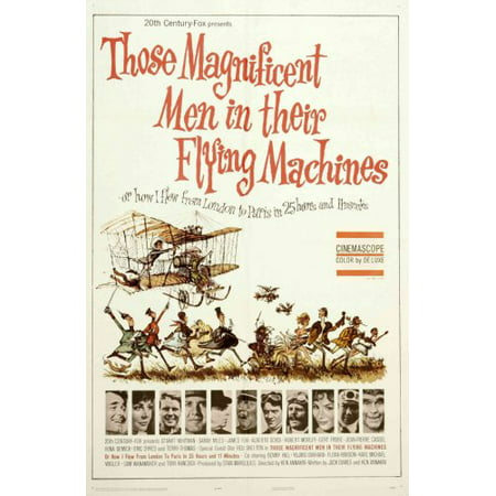 Those Magnificent Men In Their Flying Machines Movie poster