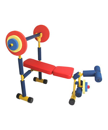 Fun and Fitness for Kids Weight Bench by W.C. Redmon Co.