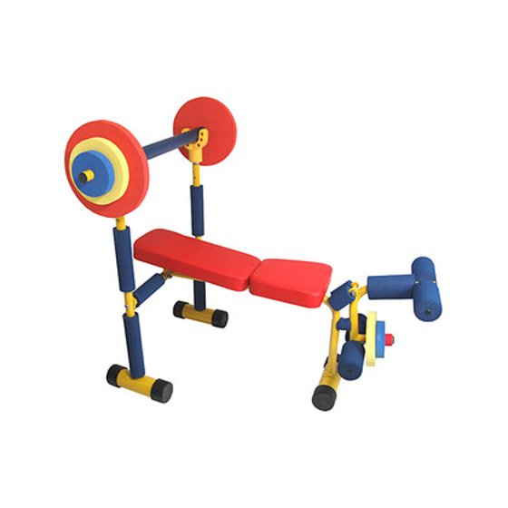 Fun and Fitness for Kids - Weight Bench