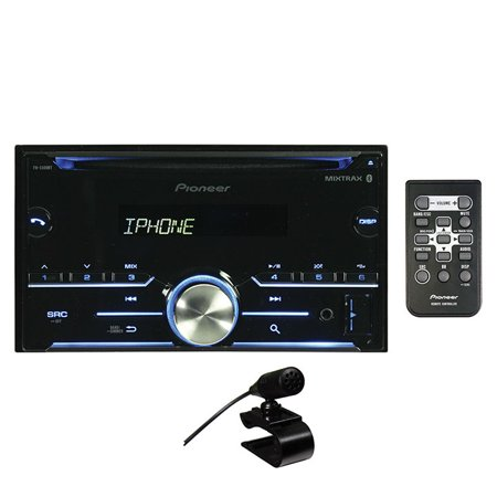 Dir Cd (Pioneer Fh-S500Bt Double-Din In-Dash Car Stereo CD Receiver with Bluetooth )