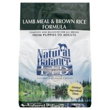 Dog Food: Natural Balance Limited Ingredient Diets