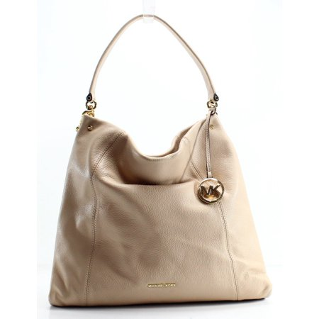 ce847353d980 Michael Kors NEW Beige Oyster Pebble Leather Lex Hobo Shoulder Purse -  Walmart.com
