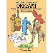 Dover Publications, The Complete Book Of Origami