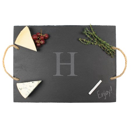 Personalized Slate 15.5-Inch Serving Board with