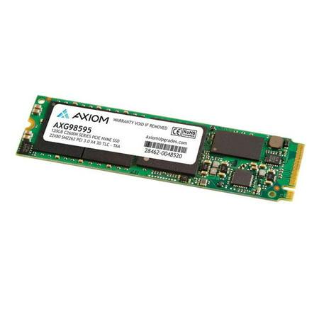 Axiom C2600N Series - Solid state drive - 120 GB - internal - M.2 2280 - PCI Express 3.1 x4 (NVMe)