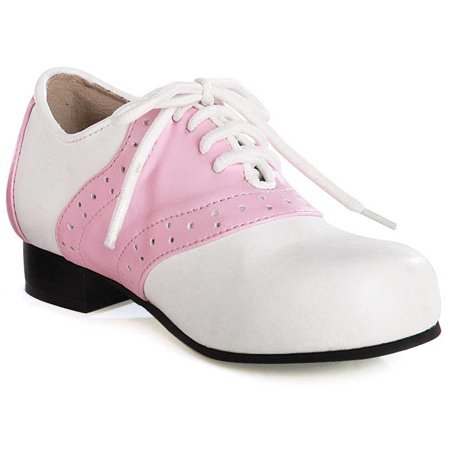 Halloween Shoes (Pink and White Saddle Shoes)