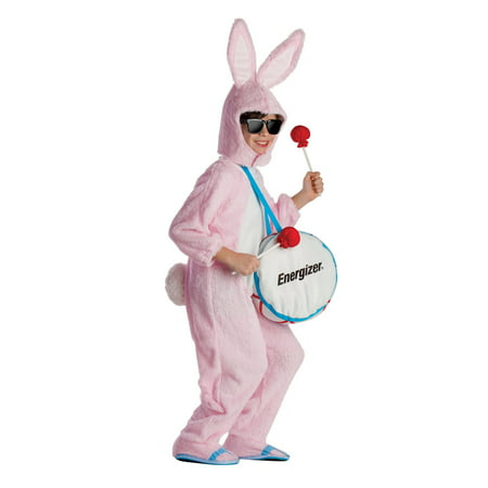 Sports Mascots Halloween Costumes (Kid's Energizer Bunny Mascot)