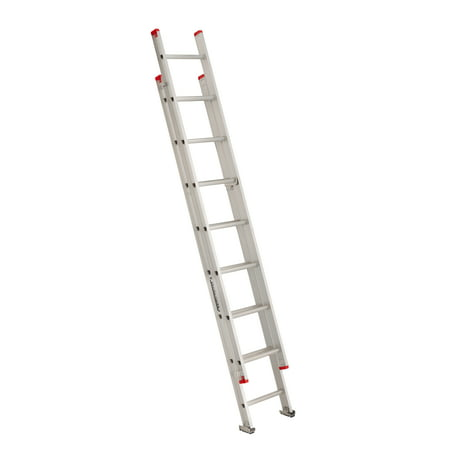 Louisville Ladder L-2321-16 16 ft. Aluminum Extension Ladder, Type III, 200 lbs Load (Werner 16 Ft Aluminum Multi Position Ladder)