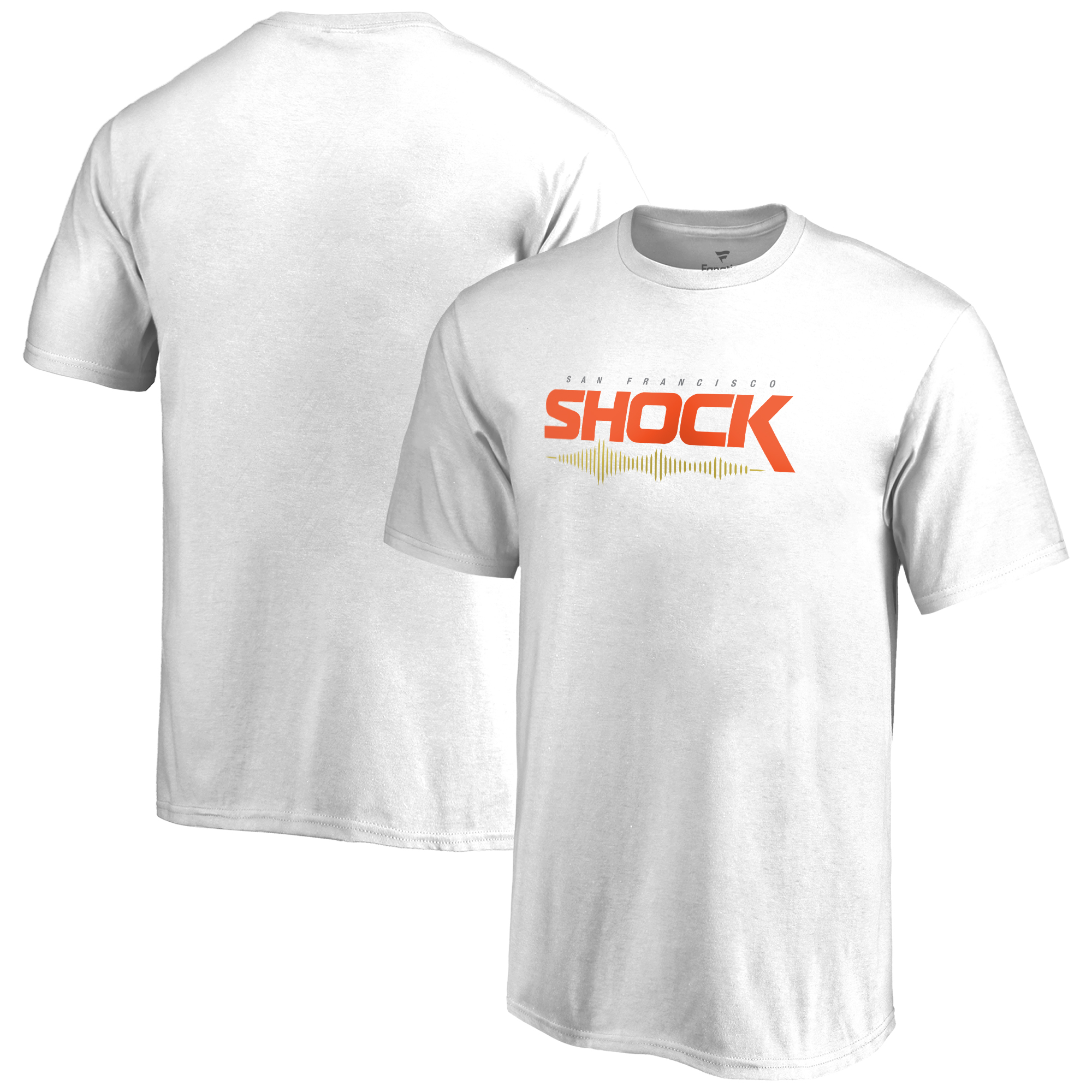 San Francisco Shock Fanatics Branded Youth Team Identity T-Shirt - White