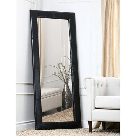 Devon and Claire Torgan Leather Floor (Dark Grey Mirror)