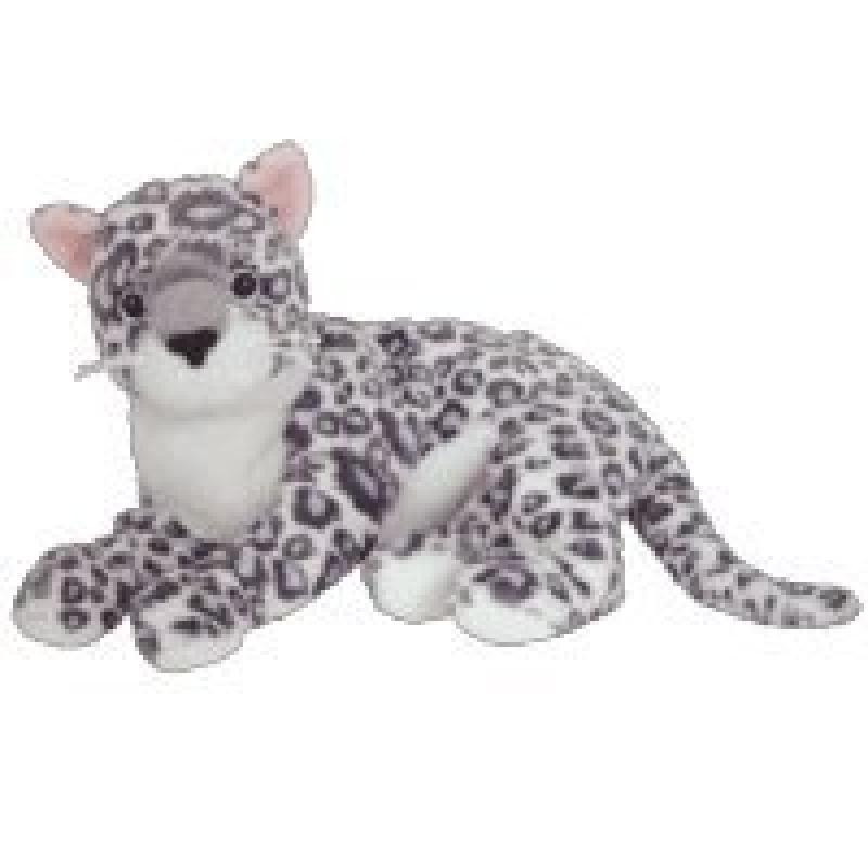 Ty Beanie Baby Sundar The Snow Leopard Internet Exclusive Toy