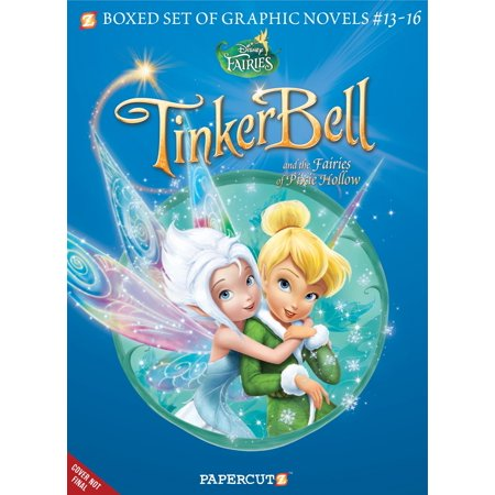 Disney Fairies Graphic Novels Boxed Set: Vol #13-16