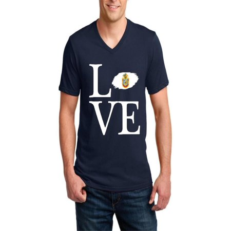 Love Mexico State of Guerrero Men's V-Neck Short Sleeve T-Shirt