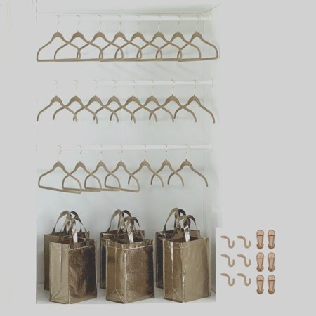Joy Mangano Huggable Hangers Gifts By The Dozen 121 Piece