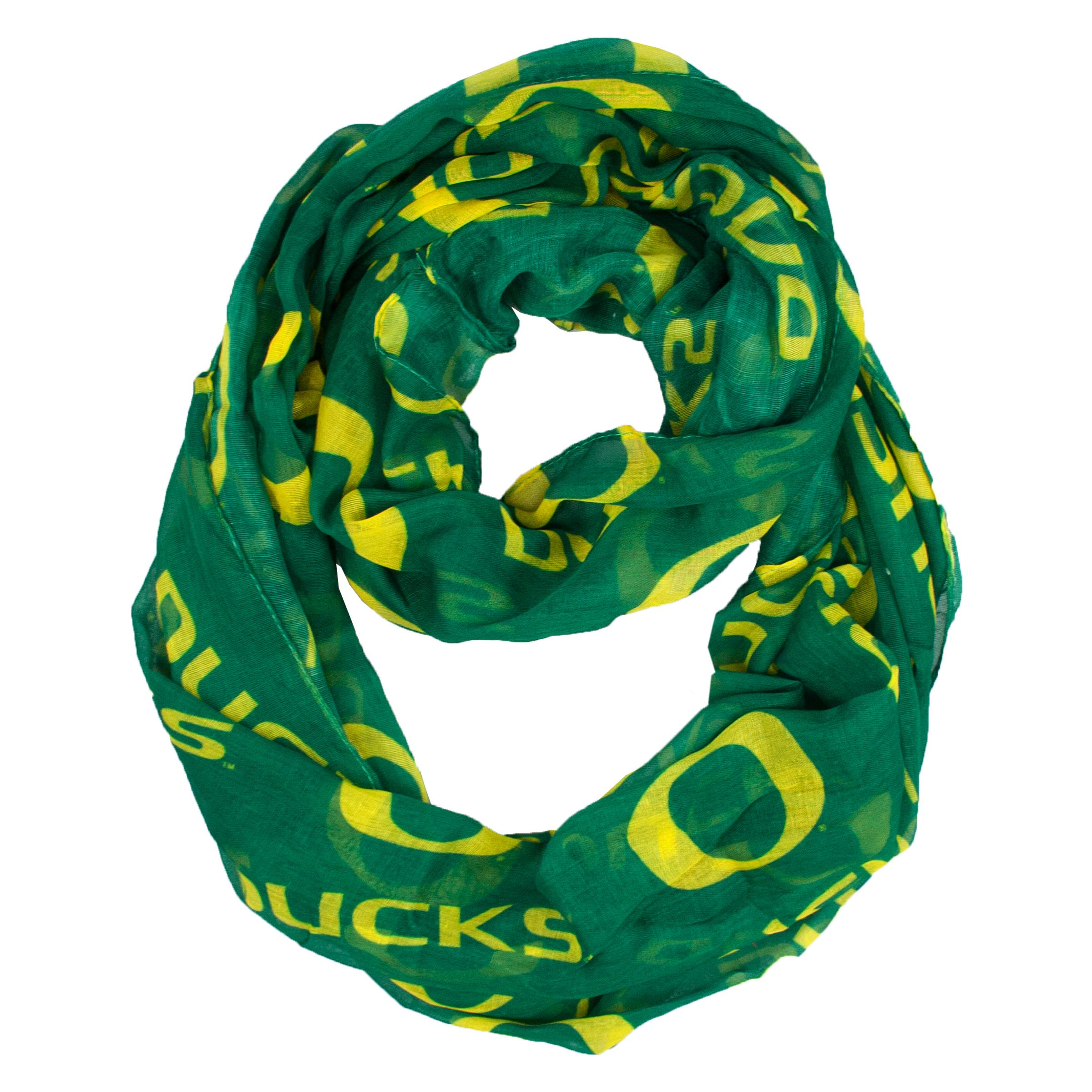 Oregon Ducks Infinity Scarf