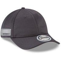 Detroit Pistons New Era Authentics Training 9TWENTY Adjustable Hat - Graphite - OSFA