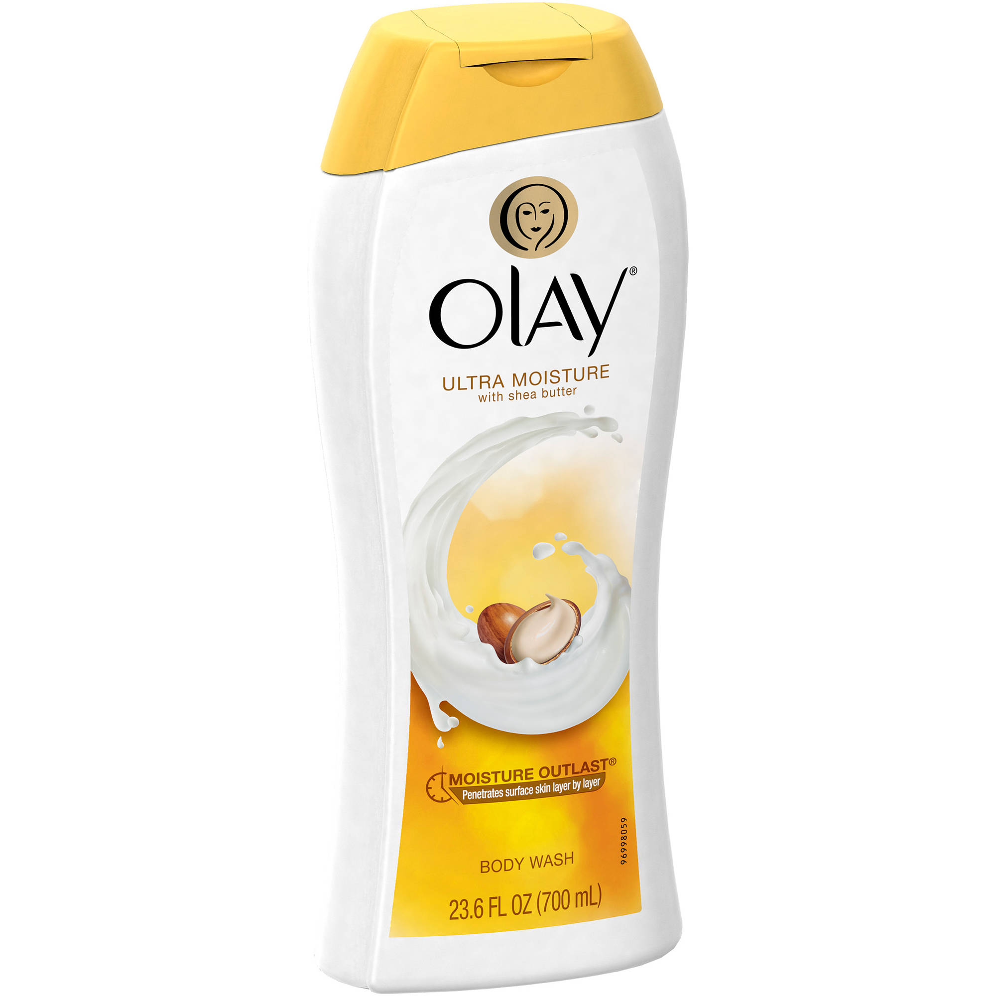 Olay Ultra Moisture Body Wash with Shea Butter, 23.6 fl oz