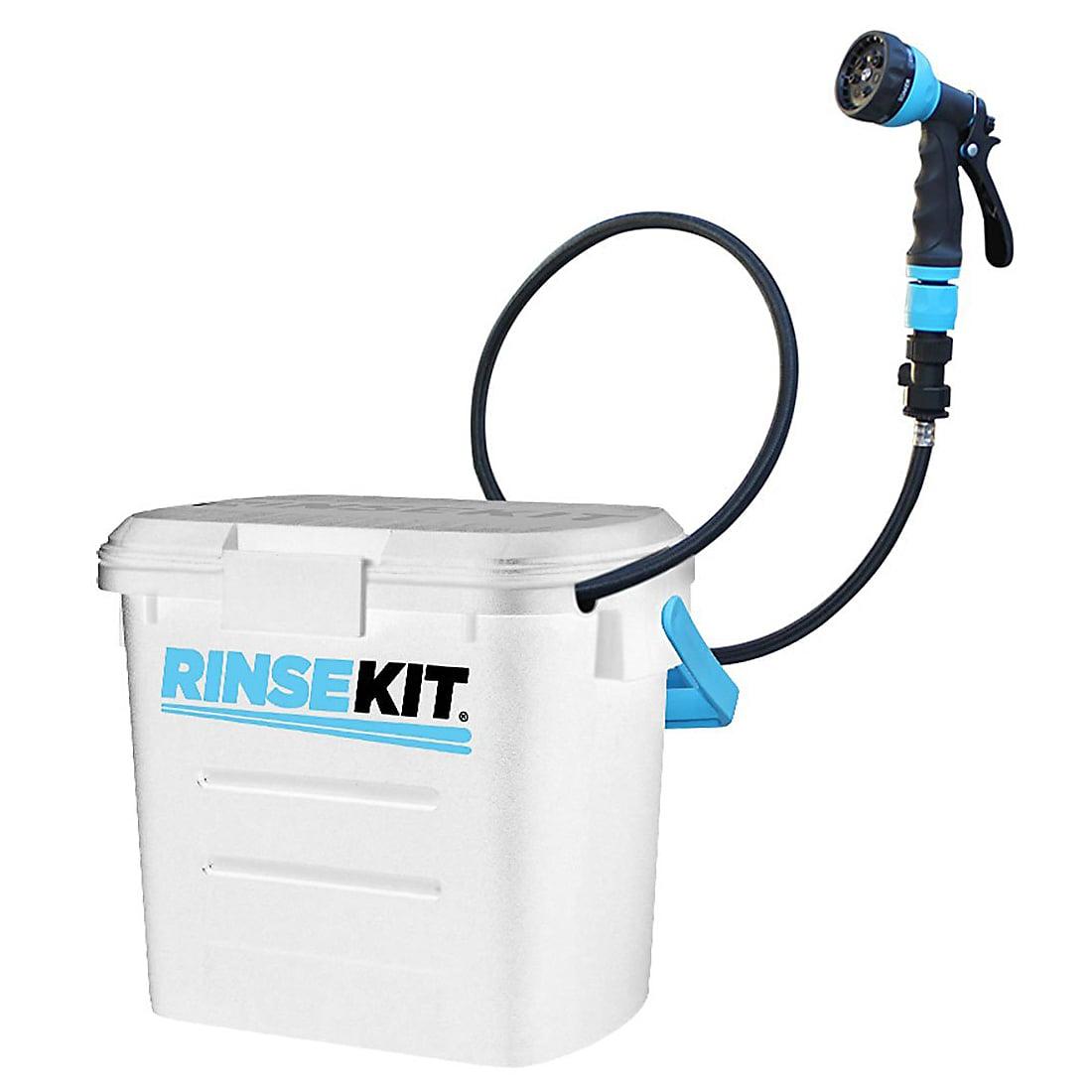 RinseKit Portable Shower 2 Gallon Sprayer White by RinseKit