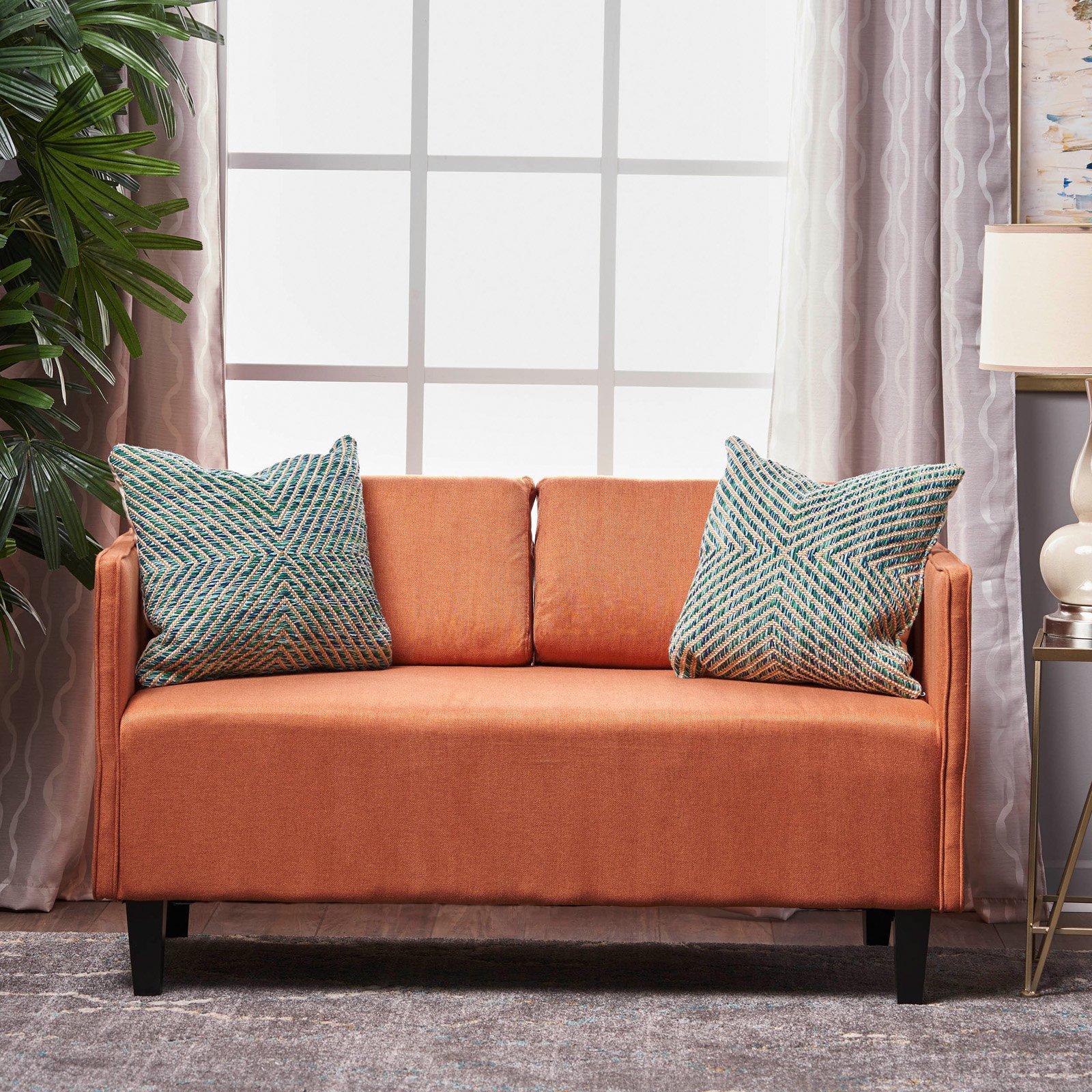 Simply Fabric Loveseat