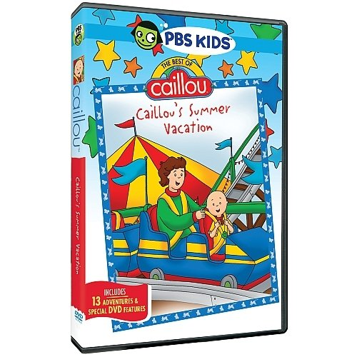 The Best Of Caillou: Caillou's Summer Vacation