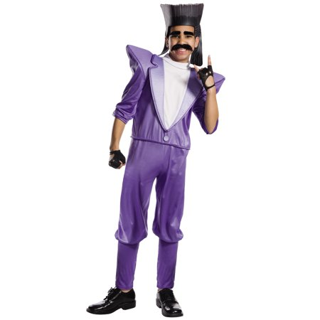 Despicable Me 3 Balthazar Bratt Boy Childs Villain Halloween Costume (Despicable Me Characters Costumes)