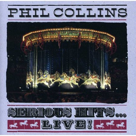 Phil Collins   Serious Hits Live  Cd