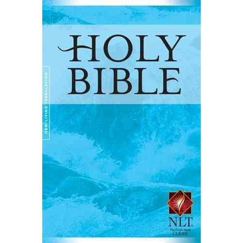 Holy Bible Gift and Award Edition: New Living Translation, Blue
