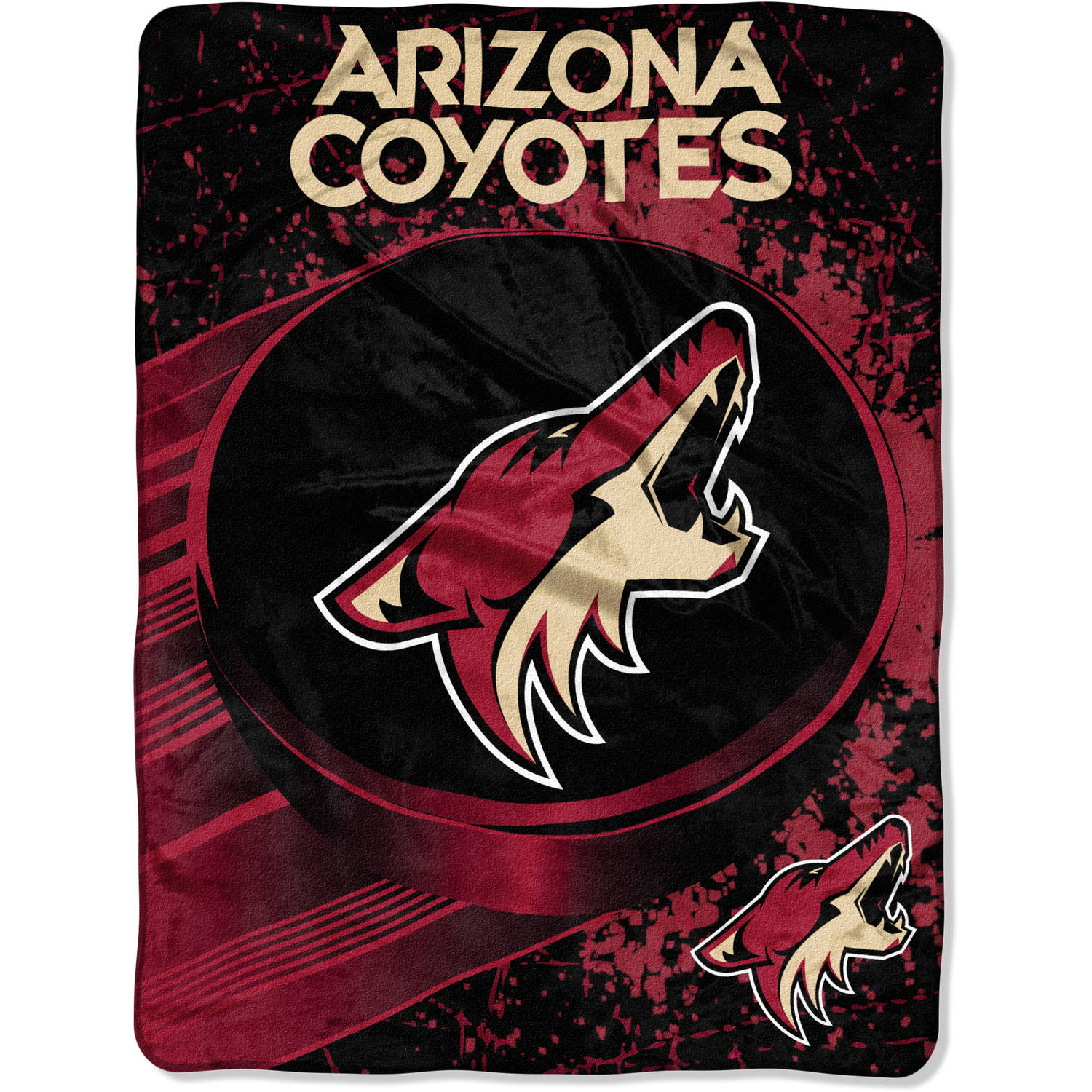 "NHL Arizona Coyotes ""Ice Dash"" 46"" x 60"" Micro Raschel Throw"