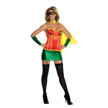 Robin Female Deluxe Adult Halloween Costume](Funny Female Halloween Ideas)