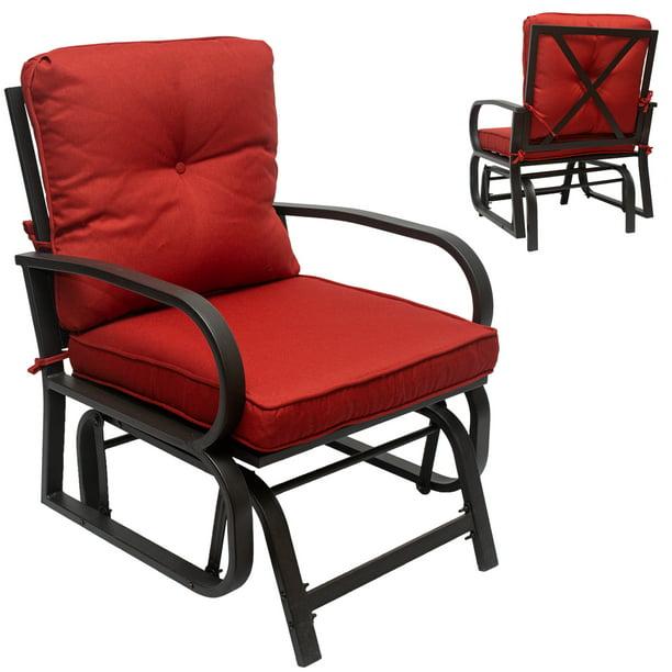 Outdoor Swing Glider Rocking Chair, Outdoor Glider Patio Set