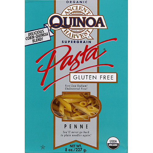 Ancient Harvest Quinoa Penne Gluten Free Pasta, 8 oz, (Pack of 12)