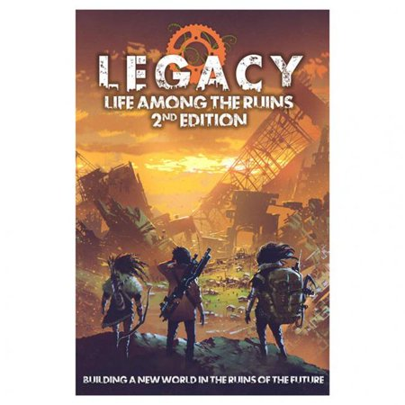 Modiphius Entertainment MUH051227 Legacy Life Among the Ruins 2nd Edition Hardcover Book - image 1 de 1