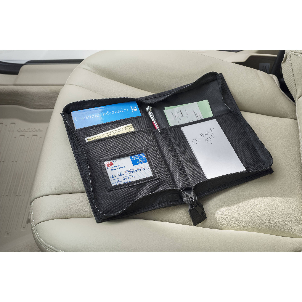 High Road Glove Box Organizer and Console Auto Document Case