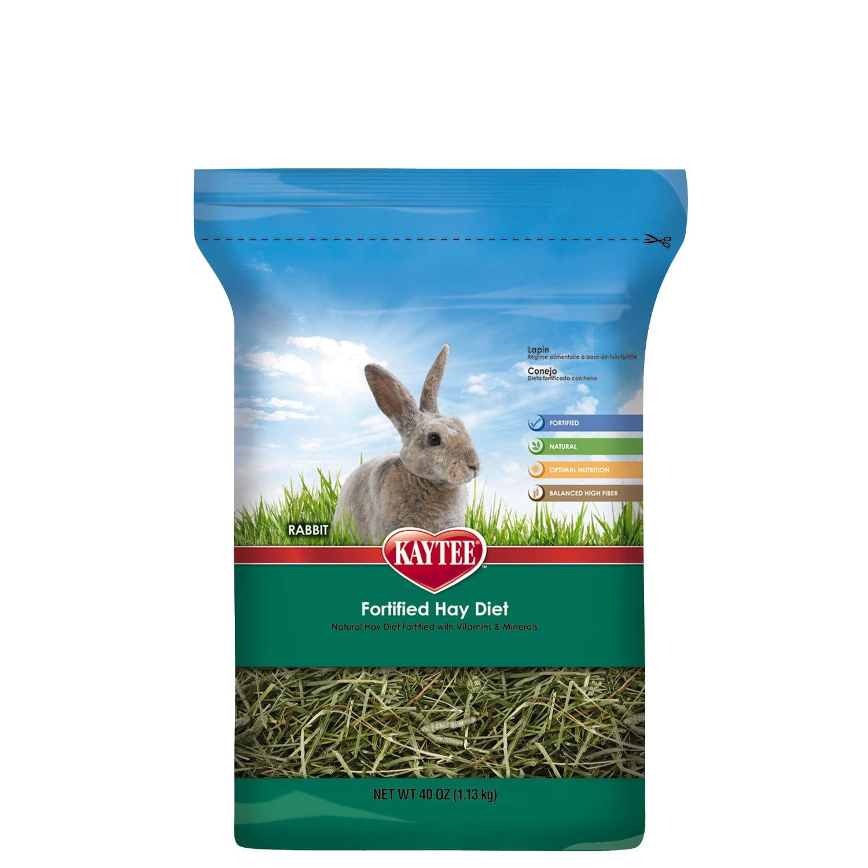 Kaytee Fortified Hay Diet Rabbit Food, 2.5 Lb by Kaytee