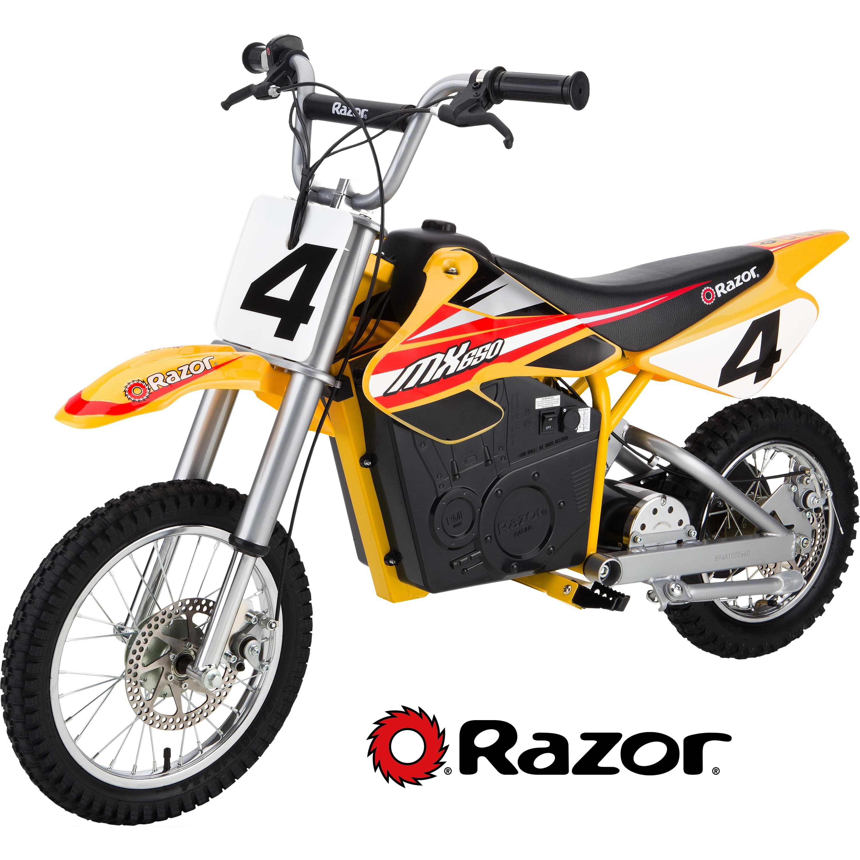 Razor 36 Volt Electric Powered MX650 Dirt Rocket Motocross ... on