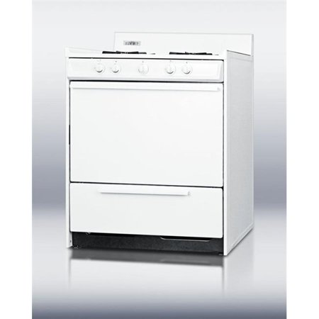 Brown WNM210-P 30 in. Wide Gas Range with Battery Start