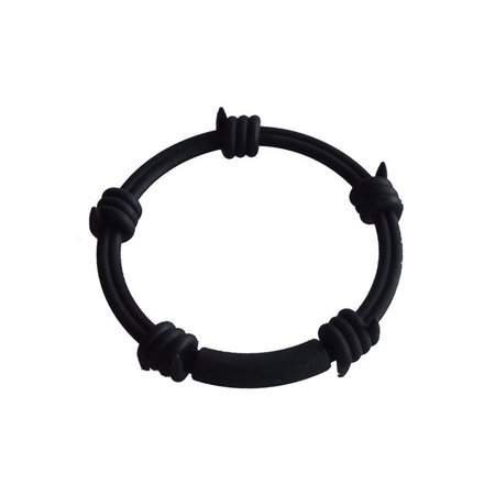 BARBED WIRE SILICONE BRACELET