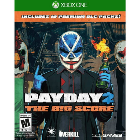 Payday 2: The Big Score - Pre-Owned (Xbox One)](Payday 2 Halloween Heist)