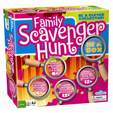 OUTSET MEDIA FAMILY SCAVENGER HUNT