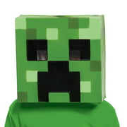 Minecraft Creepr Vacuform Mask Adult Halloween Accessory
