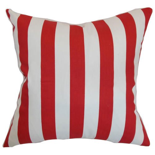 The Pillow Collection Ilaam Stripes Throw Pillow Cover