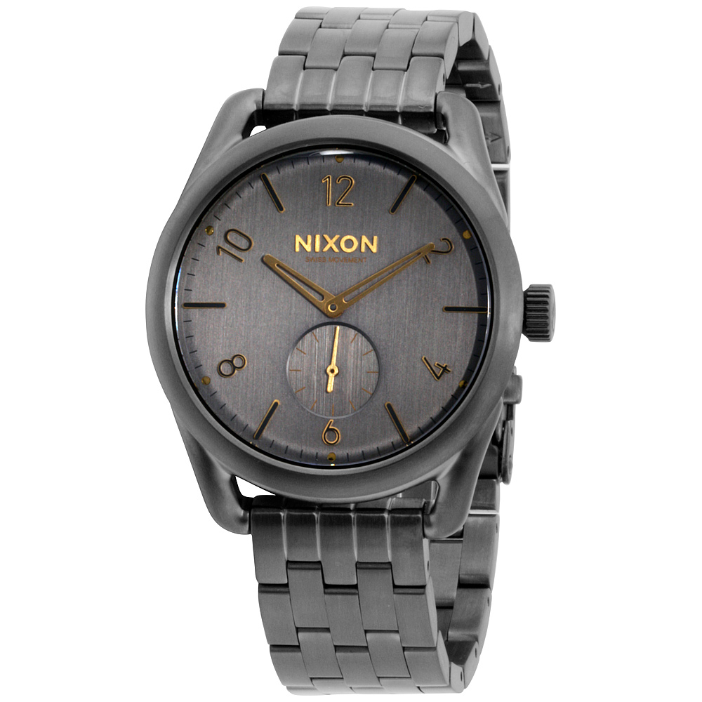 Nixon Stainless Steel Grey Analog Dial Men's Watch A9502211