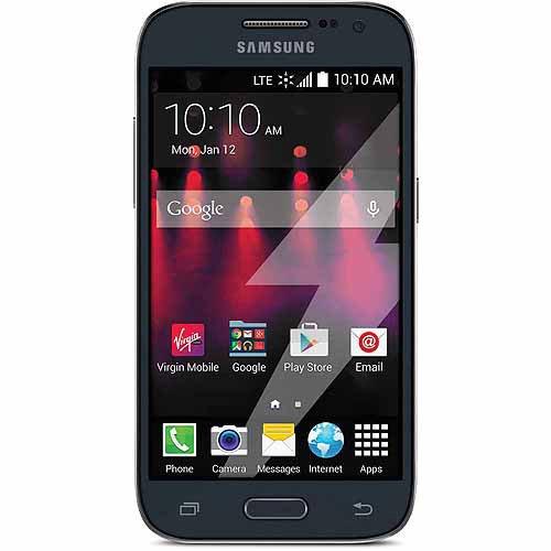 Virgin Mobile Data Done Right Samsung Galaxy Core Prime Prepaid Smartphone