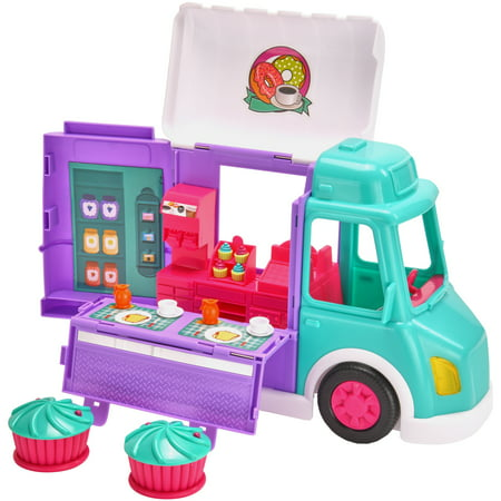 Kid Connection 17-Piece Food Truck Play Set with Lights & Sounds ()